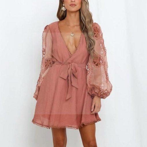 Hippie chic Abendkleid